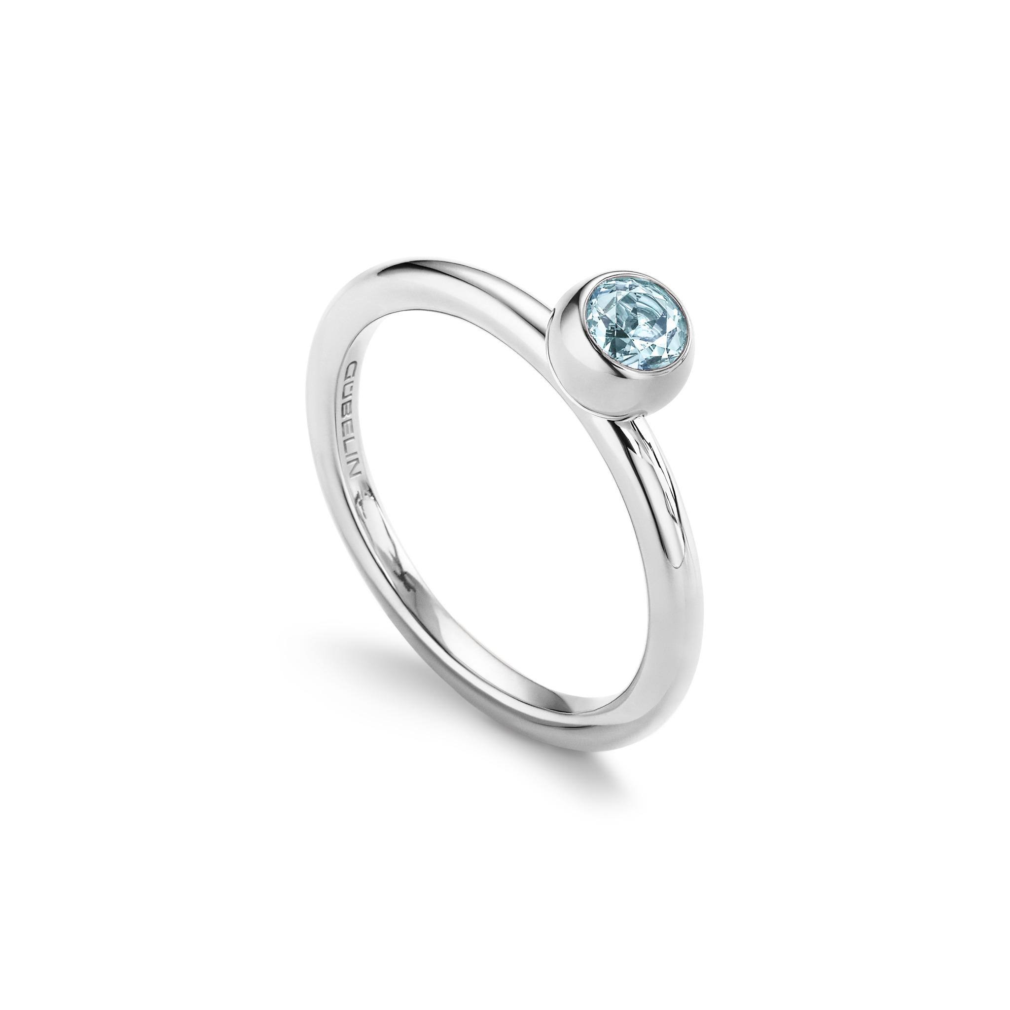 海蓝宝石戒指