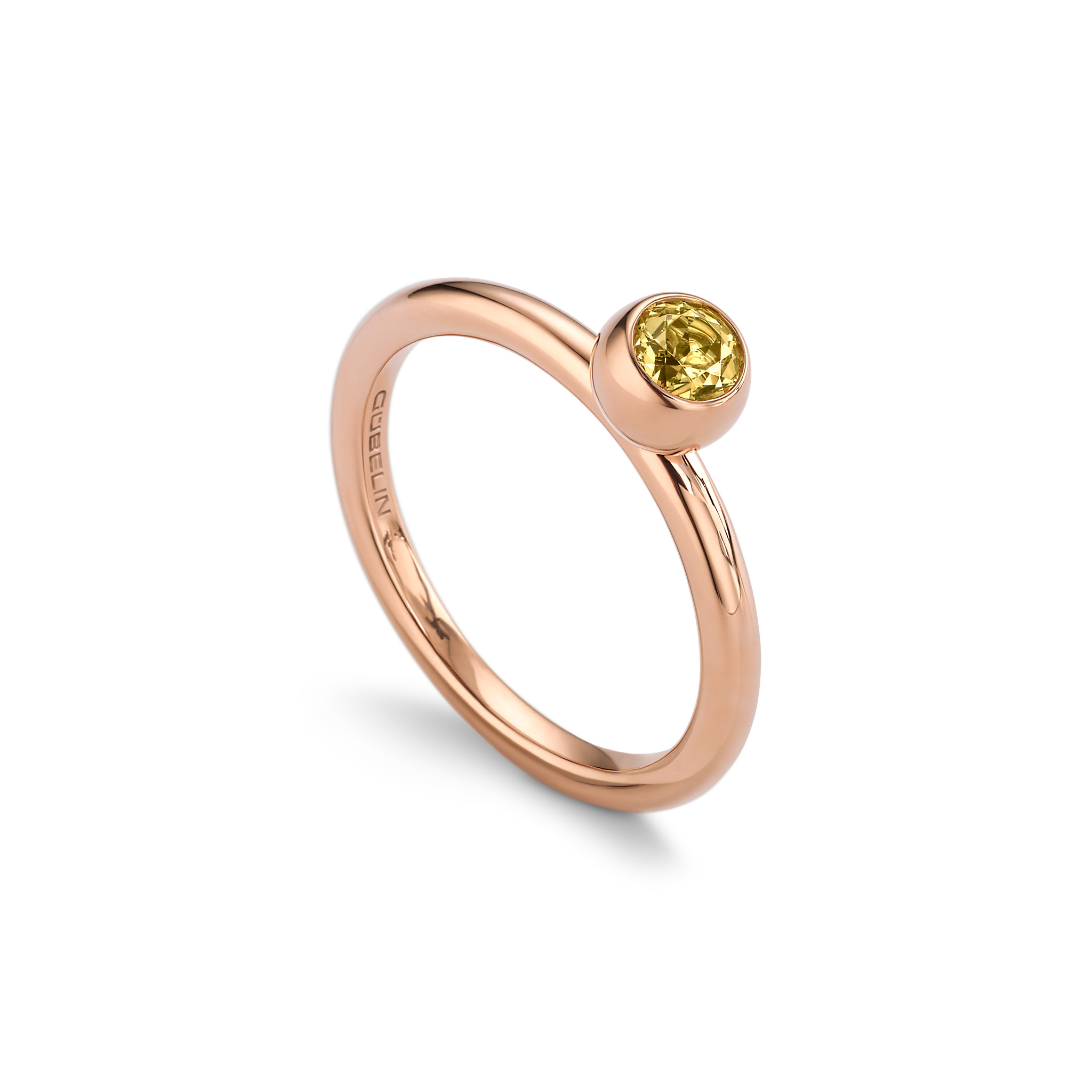 Ring with beryl