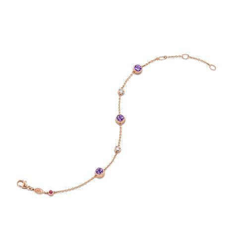 手镯镶嵌紫水晶