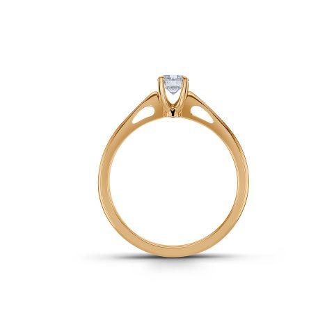 单钻戒指镶嵌钻石