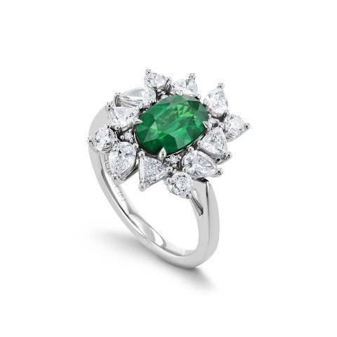 Ring mit Smaragd