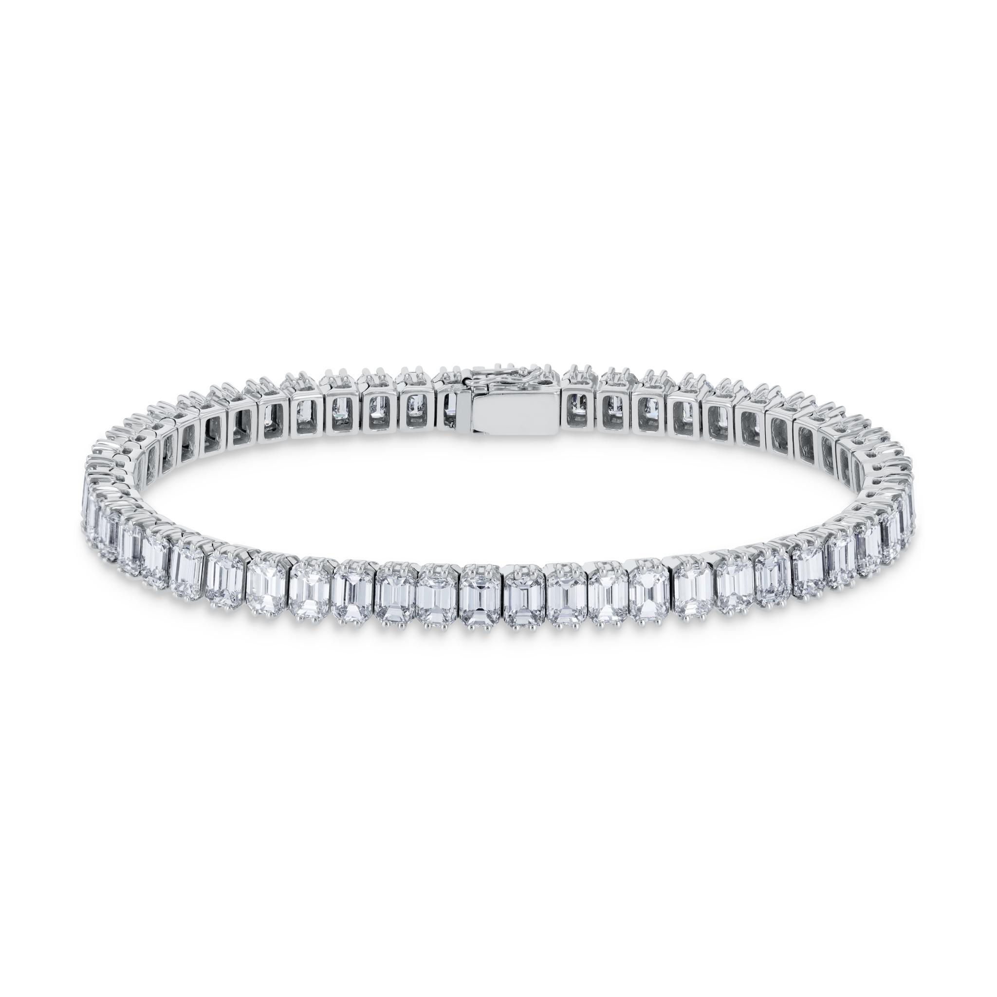 Rivière Bracelet mit Diamanten