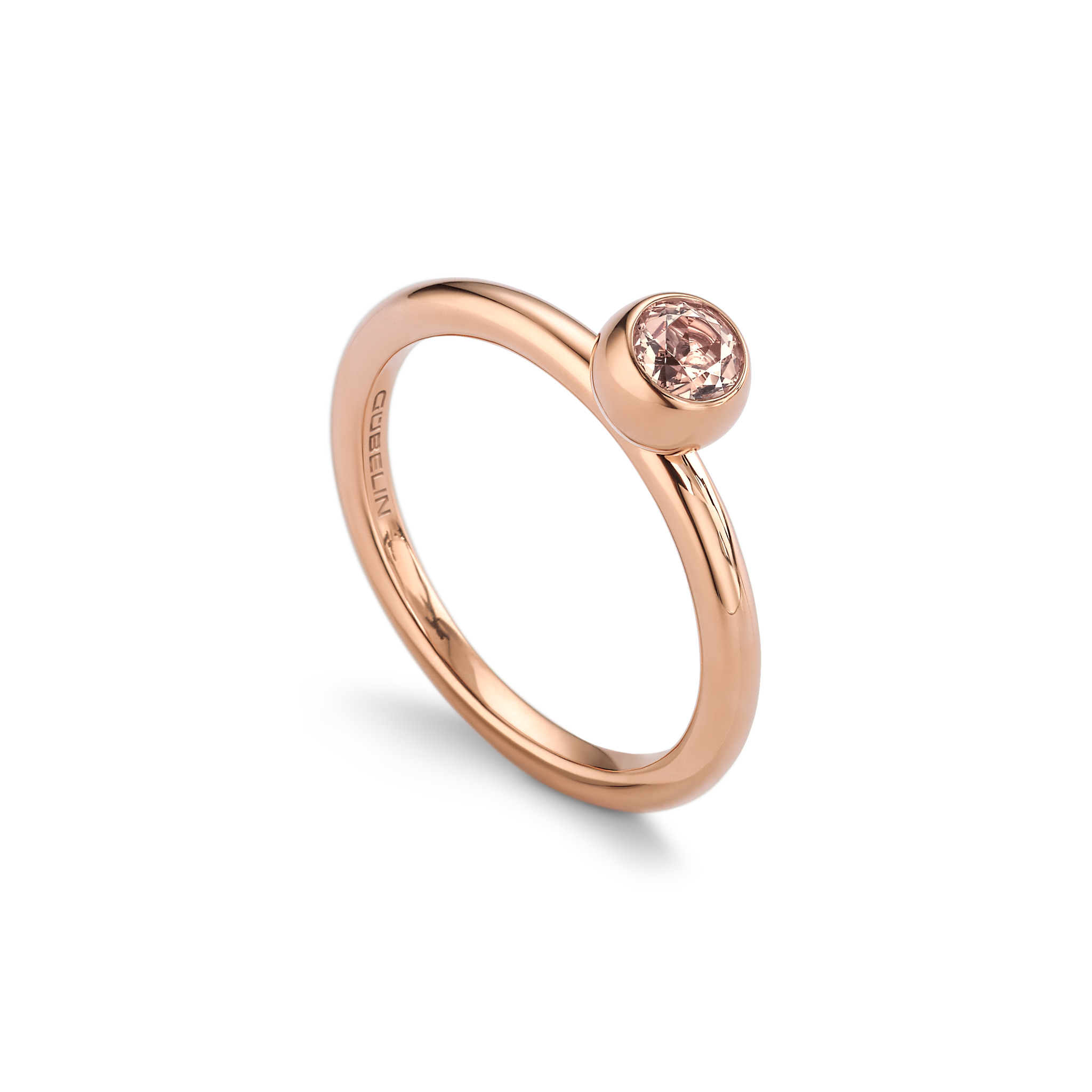 Ring with morganite