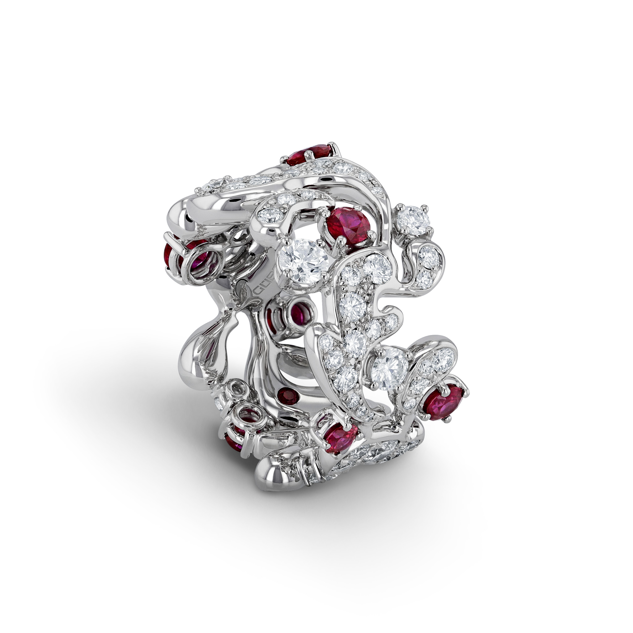 Ring with rubies