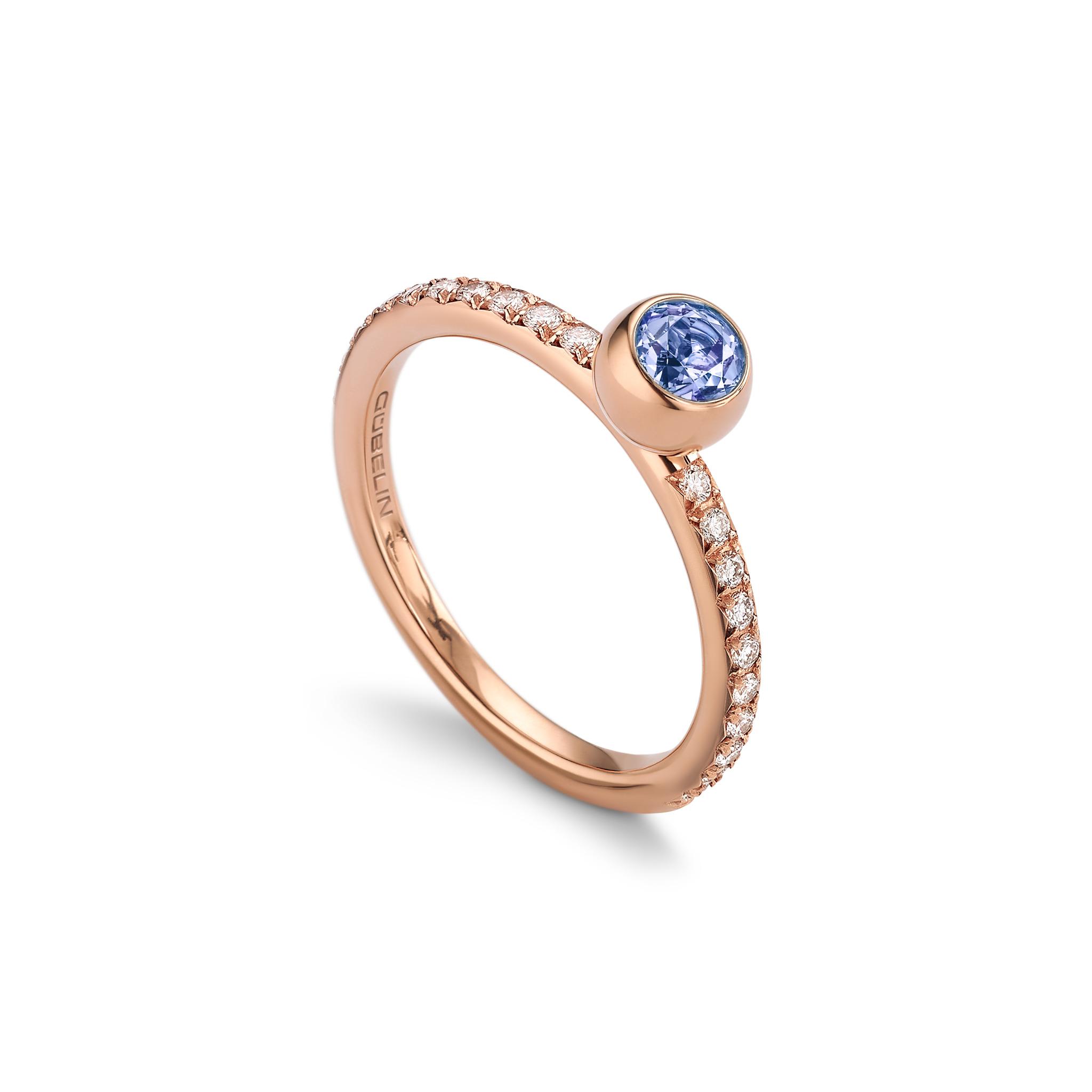 坦桑石戒指
