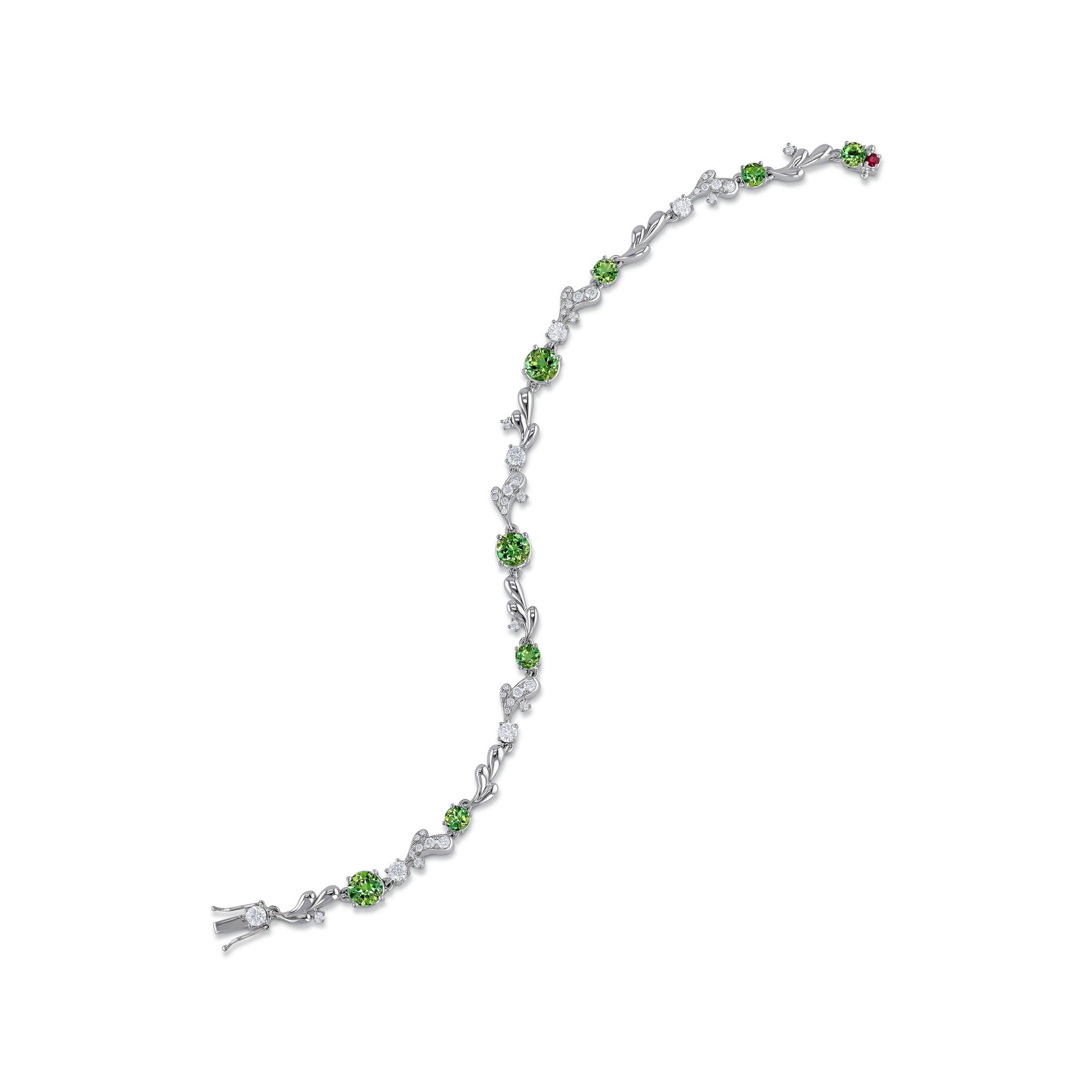 Bracelet mit Turmalinen