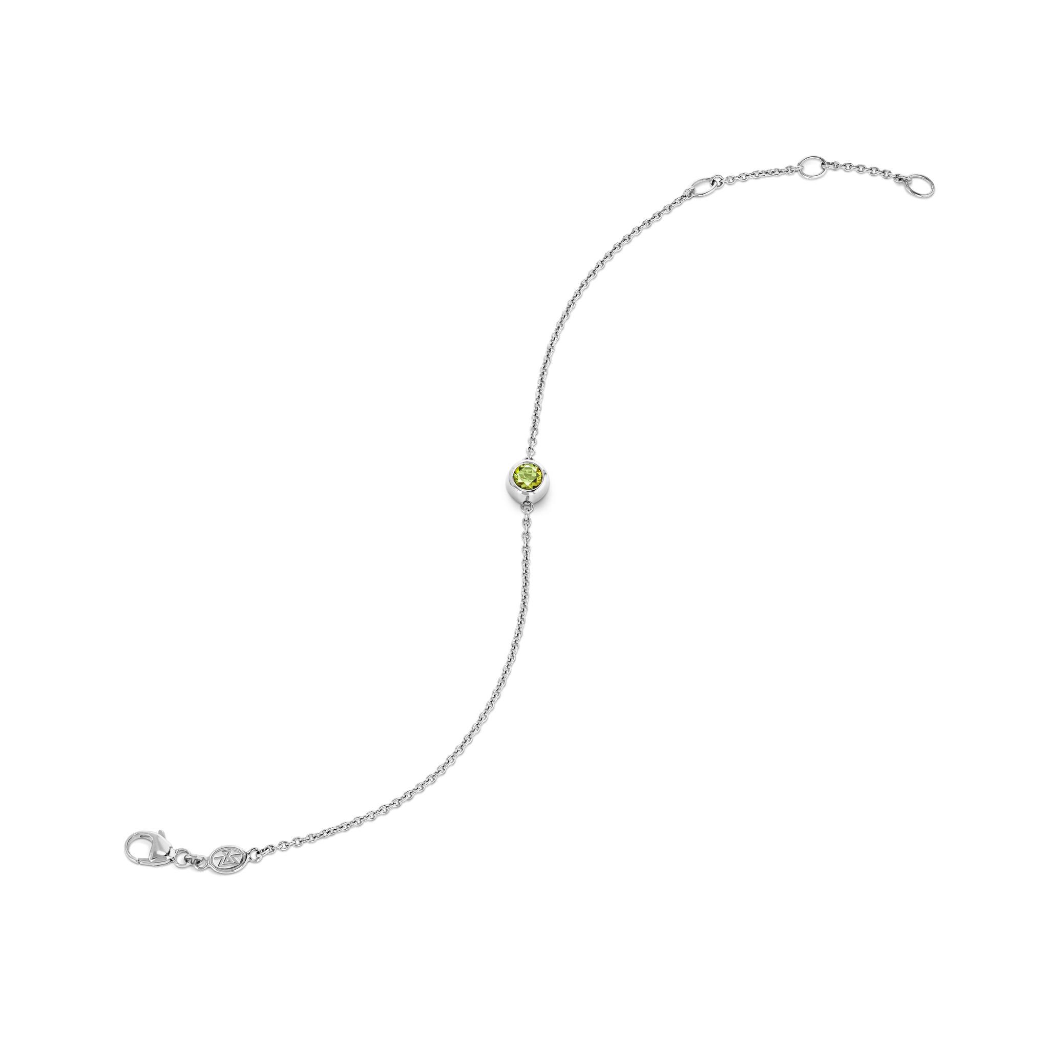 Bracelet with tourmaline